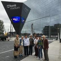 us bank stadium tour, eagan pointe senior living, eagan mn senior living