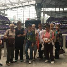 us bank stadium tour, eagan pointe senior living, eagan mn senior living