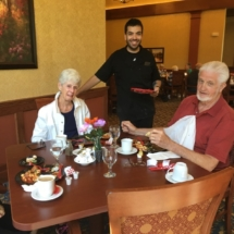 Seniors having fun at Eagan Pointe Senior Living