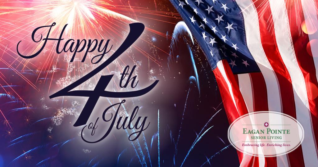 Eagan Pointe Senior Living-Happy Fourth of July