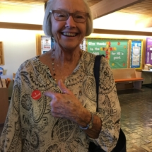 Voting Day at Eagan Pointe Senior Living