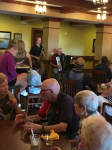 July Birthday Party-Eagan Pointe Senior Living-special entertainment