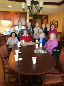 Rachel Goodbye Party-Eagan Pointe Senior Living-group shot