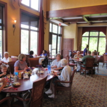 national-night-out-alzheimers-association-fundraiser-eagan-pointe-senior-living-food and conversation
