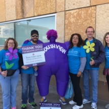 2017 Walk to End Alzheimer's Recap-Eagan Pointe Senior Living-Eagan Pointe walkers