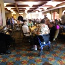 Grandparents Day-Eagan Pointe Senior Living-everyone celebrating Grandparents Day