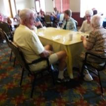 Grandparents Day-Eagan Pointe Senior Living-seniors chatting