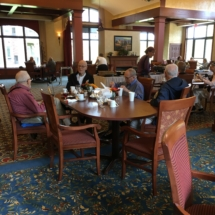Tenant Appreciation Lunch-Eagan Pointe Senior Living-Men's table