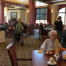 Tenant Appreciation Lunch-Eagan Pointe Senior Living-Shot of the room
