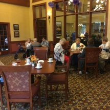 Tenant Appreciation Lunch-Eagan Pointe Senior Living-Winding down the lunch