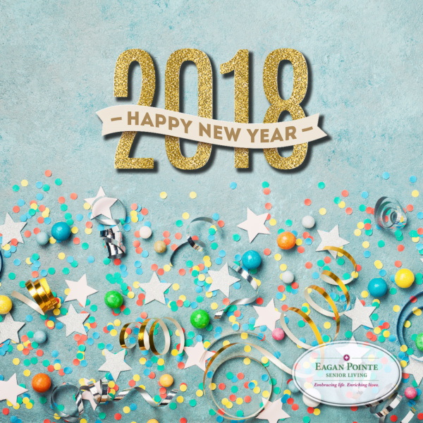 Happy New Year from Eagan Pointe Senior Living