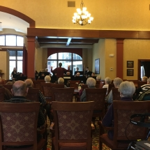 Eagan High School Jazz Band at Eagan Pointe Senior Living