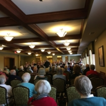Velvet Tones audience Eagan Pointe Senior Living