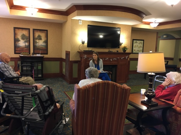 Healthy Living Discussion at Eagan Pointe Senior Living