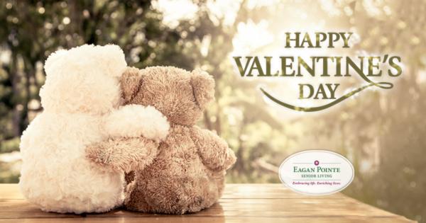 Happy Valentine's Day - Eagan Pointe Senior Living!