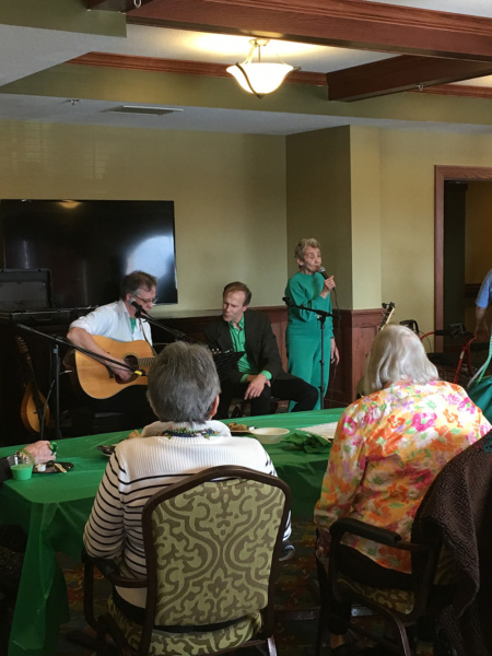 St. Patrick's Day at Eagan Pointe Senior Living