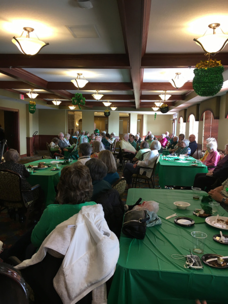 St Patricks Day at Eagan Pointe Senior Living