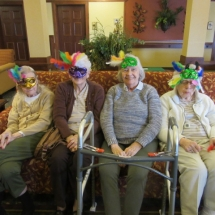 Mardi Gras at Eagan Pointe Senior Living