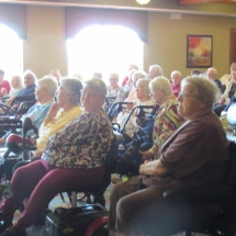 Bird Show at Eagan Pointe Senior Living