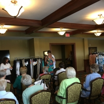 Fashion Show at Eagan Pointe Senior Living