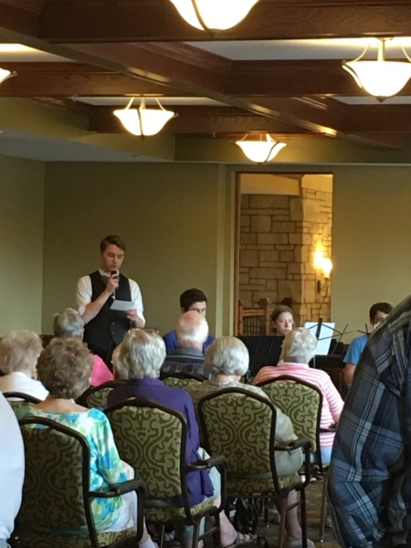 Eagle Scout Performance at Eagan Pointe Senior Living